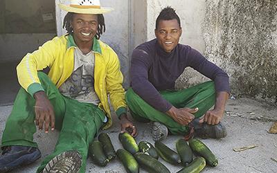 SERCADE apoya un proyecto de inmigrantes para cultivar tierras.