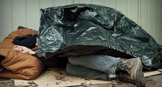 Sin techo, sin hogar, sin lugar...