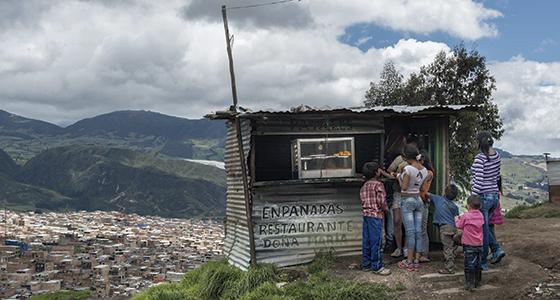 Proyecto capuchino de atención a las víctimas de violencia estructural en Colombia