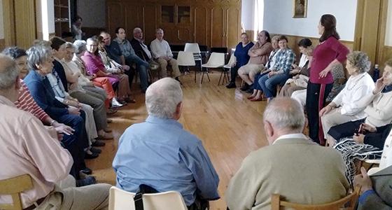 Voluntariado geriátrico franciscano de Pamplona